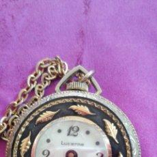 Relojes de pulsera: ANTIGUO RELOJ DE COLGANTE MARCA LUCERNE MADE IN SWISS. Lote 202393342