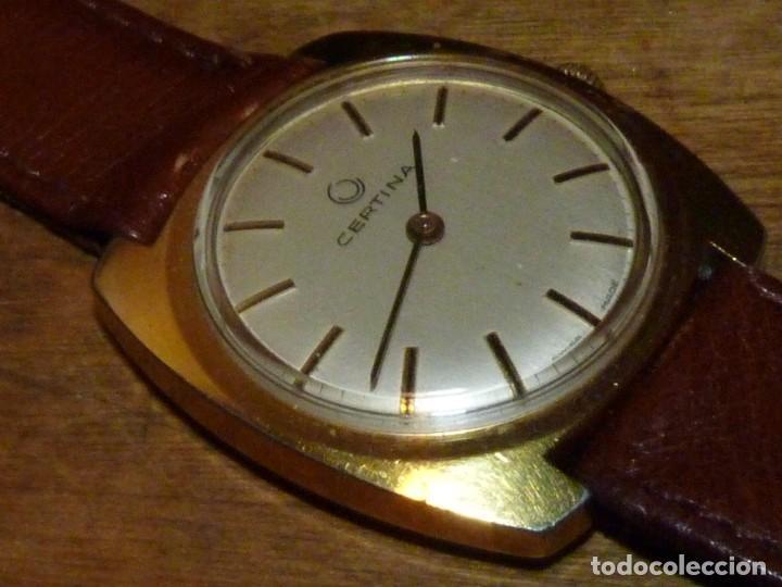 RARO RELOJ CERTINA CABALLERO CARGA MANUAL CALIBRE AS 1790/92 AÑOS 60 COLECCION VINTAGE (Relojes - Pulsera Carga Manual)