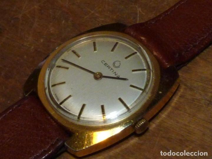 Relojes de pulsera: RARO RELOJ CERTINA CABALLERO CARGA MANUAL CALIBRE AS 1790/92 AÑOS 60 COLECCION VINTAGE - Foto 2 - 202551757