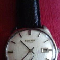 Relojes de pulsera: RELOJ DUWARD DE PLATA. Lote 202606145
