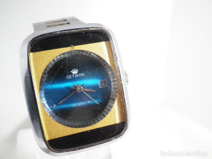 Relojes de pulsera: RARO INUSAL RELOJ MECANICO DE CABALLERO AÑO 1970 FUNCIONA COLECCION LOTE WATCHES - Foto 2 - 202718090