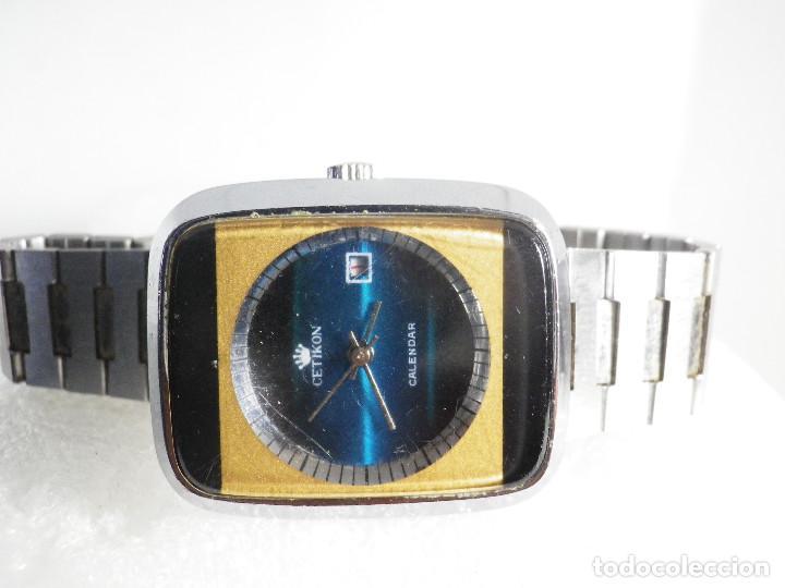 Relojes de pulsera: RARO INUSAL RELOJ MECANICO DE CABALLERO AÑO 1970 FUNCIONA COLECCION LOTE WATCHES - Foto 3 - 202718090