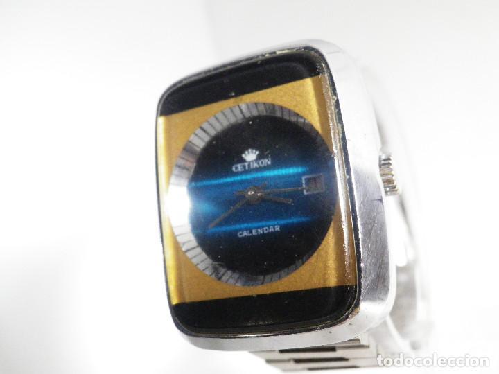 Relojes de pulsera: RARO INUSAL RELOJ MECANICO DE CABALLERO AÑO 1970 FUNCIONA COLECCION LOTE WATCHES - Foto 4 - 202718090