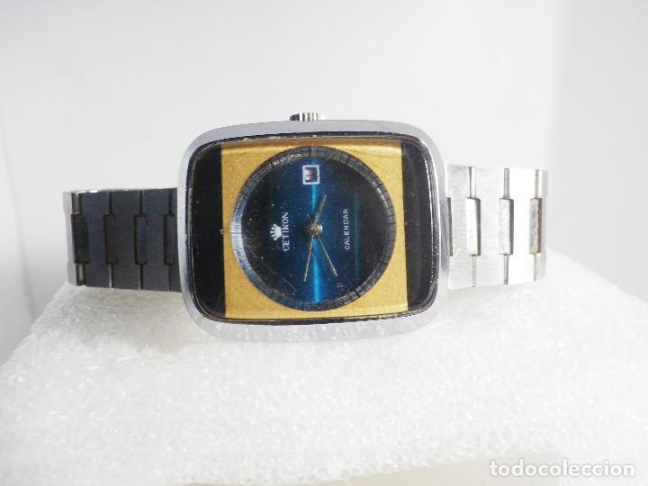 Relojes de pulsera: RARO INUSAL RELOJ MECANICO DE CABALLERO AÑO 1970 FUNCIONA COLECCION LOTE WATCHES - Foto 6 - 202718090