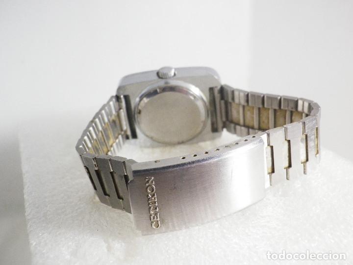 Relojes de pulsera: RARO INUSAL RELOJ MECANICO DE CABALLERO AÑO 1970 FUNCIONA COLECCION LOTE WATCHES - Foto 8 - 202718090