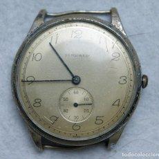 Relojes de pulsera: RELOJ PULSERA SERGINES MECANICO 38MM ASA FIJA ANTIGUO. Lote 202782857