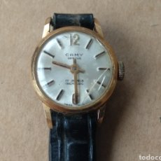 Relojes de pulsera: RELOJ SEÑORA PULSERA Y ORO MARCA CAMY. Lote 202949722