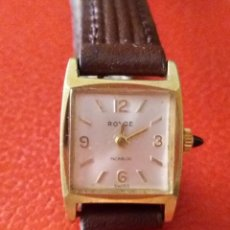 Relojes de pulsera: RELOJ DE MUJER ROYCE CARGA MANUAL 17 RUBIS.. Lote 203171077
