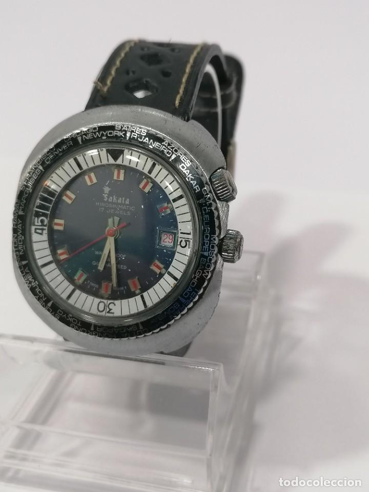 Relojes de pulsera: RELOJ SAKATA - Foto 2 - 203624338