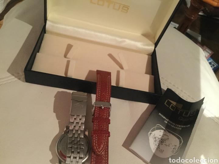 Relojes de pulsera: Reloj Lotus caballero, con cadena y correa de repuesto, cristal del dial mineral - Foto 4 - 203884246