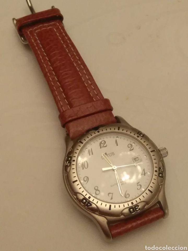 Relojes de pulsera: Reloj Lotus caballero, con cadena y correa de repuesto, cristal del dial mineral - Foto 5 - 203884246