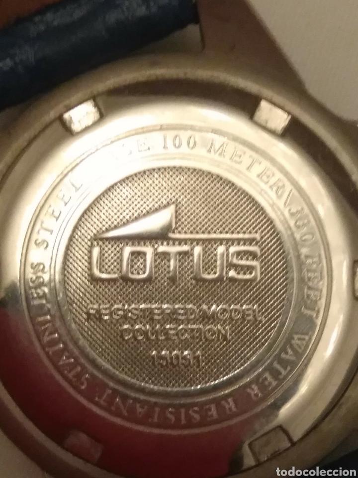 Relojes de pulsera: Reloj Lotus caballero, con cadena y correa de repuesto, cristal del dial mineral - Foto 6 - 203884246