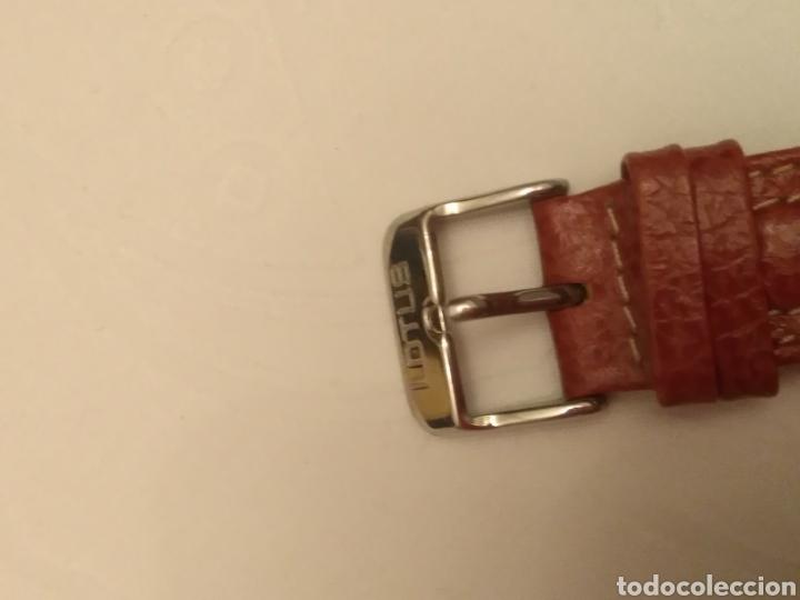 Relojes de pulsera: Reloj Lotus caballero, con cadena y correa de repuesto, cristal del dial mineral - Foto 7 - 203884246
