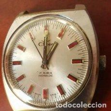 Relojes de pulsera: RELOJ PULSERA A CUERDA-CARGA MANUAL CLIPER 17 RUBIS INCABLOC SWISS MADE AÑOS 70 FUNCIONANDO.PRECIOSO. Lote 204661353