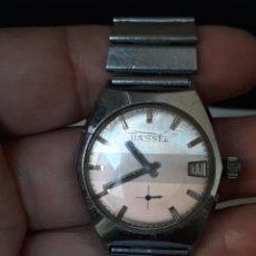 Relojes de pulsera: RELOJ DE PULSERA CARGA MANUAL PARA MUJER,BASSEL, FUNCIONA. Lote 206135416