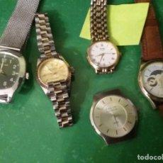 Relojes de pulsera: LOTE 5 RELOJES USADOS. Lote 206227297