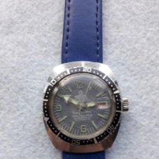 Relojes de pulsera: RELOJ MARCA MORTIMA. TIPO SUBMARINISTA DE CABALLERO. FUNCIONANDO. Lote 206256503