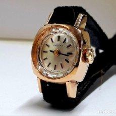 Relojes de pulsera: PEQUEÑO RELOJ VINTAGE CERTINA SEÑORA EN PLAQUÉ ORO 20 MICRAS CARGA MANUAL CALIBRE 13-20 Y NUEVO. Lote 206274061