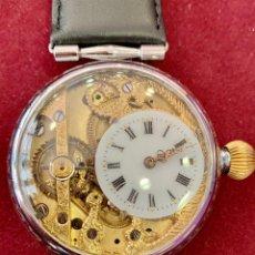 Relojes de pulsera: HEBDOMAS 8 DÍAS CUERDA SKELETON. Lote 206290687
