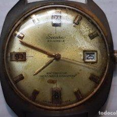 Relojes de pulsera: RELOJ SICURA CUERDA 23 JEWELS CABALLERO AÑOS 70 FUNCIONANDO RARO. Lote 206393335