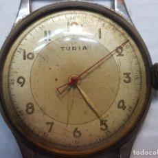 Relojes de pulsera: RELOJ CABALLERO TURIA PARA REPARAR O PIEZAS. Lote 206394787