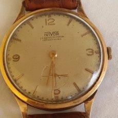Orologi da polso: RELOJ NIVOR LA CHAUX DE FONDS EXTRA 17 RUBIS ORO 18 K.CARGA MANUAL. Lote 206428796