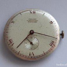 Relojes de pulsera: MÁQUINA ETA 810 CON ESFERA CAUNY. Lote 206534568