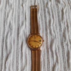 Relojes de pulsera: RELOJ OMEGA AUTOMATIC DE ORO 18 KILATES. Lote 206583485