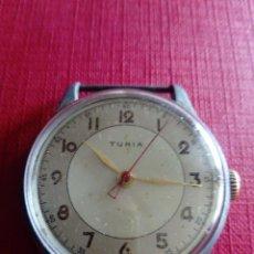 Relojes de pulsera: GRAN RELOJ TURIA DE 38 MM. Lote 206833832