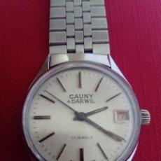 Relojes de pulsera: RELOJ CAUNY DARWIL. Lote 207036940
