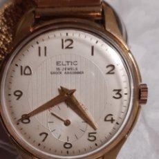 Relojes de pulsera: RELOJ DE CUERDA MARCA ELTIC. Lote 207889578