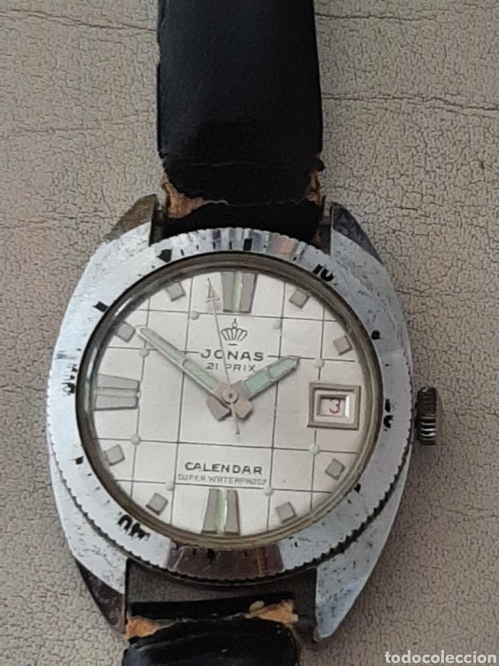 Relojes de pulsera: RELOJ JONAS 21 PRIX CALENDAR SUPER WATERPROOF ANTIMAGNETIC - Foto 2 - 208237565