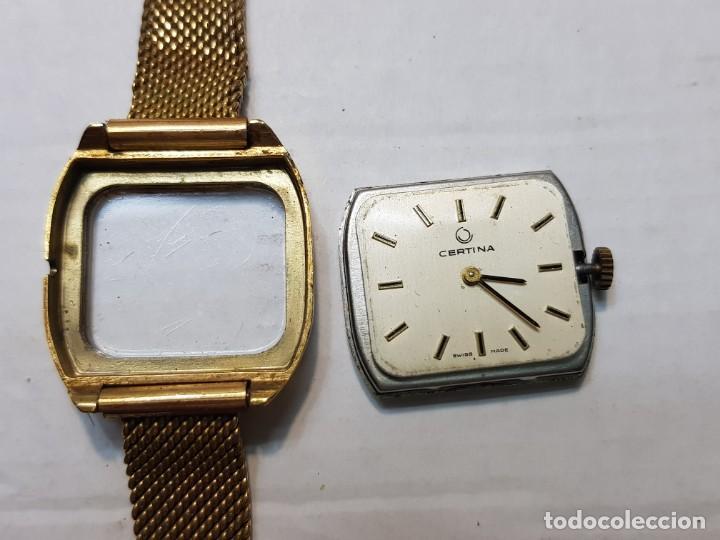 Relojes de pulsera: Reloj Certina de Cuerda chapado oro totalmente original - Foto 2 - 208593307