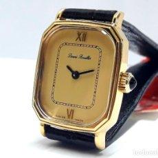 Relojes de pulsera: BELLO RELOJ VINTAGE DE SEÑORA DENNIS BOUILLER AÑOS 70 DE CARGA MANUAL CALIBRE FHF 69N Y NUEVO. Lote 208953902