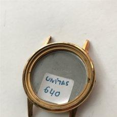 Relojes de pulsera: CAJA PARA RELOJ DUWARD UNITAS 640 VINTAGE 37 MM. Lote 209403835