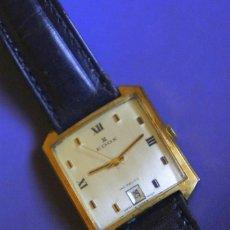 Relojes de pulsera: EDOX, RELOJ A CUERDA MANUAL. ACERO, CHAPADO EN ORO.. Lote 209419502