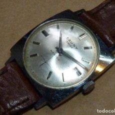Relojes de pulsera: BONITO RELOJ CAUNY MASTER CARGA MANUAL SWISS MADE CALIBRE FHF 81 AÑOS 60 VINTAGE. Lote 209861093