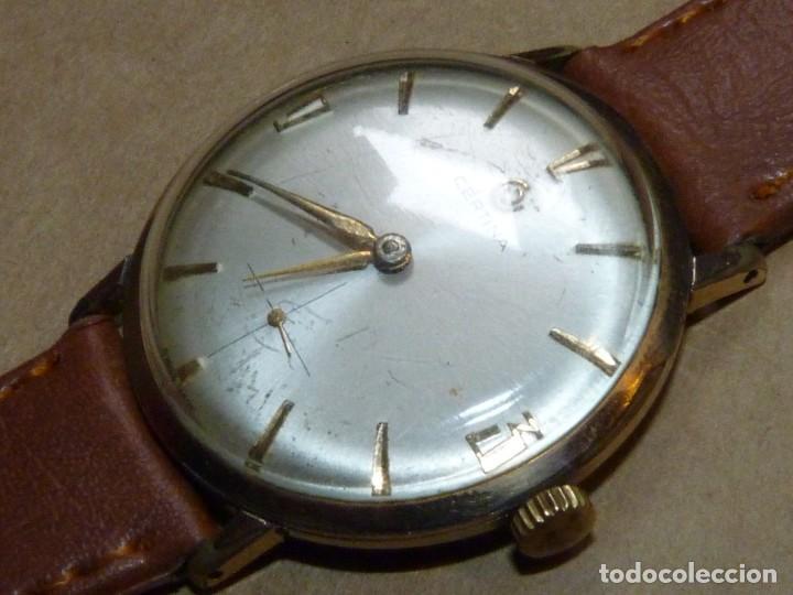 Relojes de pulsera: ELEGANTE RELOJ CERTINA CARGA MANUAL CALIBRE 28-10 SOCIETE SOLVAY & CIE AÑOS 60 - Foto 2 - 209862477