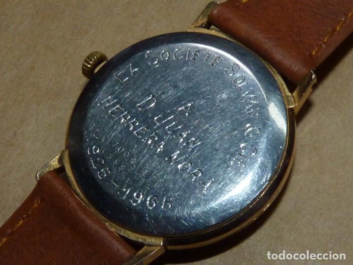Relojes de pulsera: ELEGANTE RELOJ CERTINA CARGA MANUAL CALIBRE 28-10 SOCIETE SOLVAY & CIE AÑOS 60 - Foto 4 - 209862477