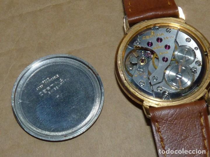 Relojes de pulsera: ELEGANTE RELOJ CERTINA CARGA MANUAL CALIBRE 28-10 SOCIETE SOLVAY & CIE AÑOS 60 - Foto 6 - 209862477