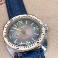 Relojes de pulsera: RELOJ DIAMANT CARGA MANUAL CORONA EXTERIOR GIRATORIA. Lote 209921242