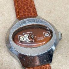 Relojes de pulsera: RELOJ VANROY CARGA MANUAL VINTAGE DIGITAL. Lote 209921718