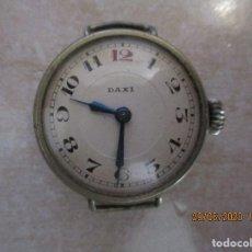 Relojes de pulsera: RELOJ MARCA DAXI. ANTIGUO Y DIFICIL DE ENCONTRAR. FUNCIONA. Lote 209963323
