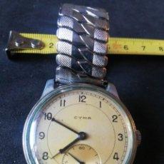 Relógios de pulso: RELOJ CYMA CUERDA NO FUNCIONA. Lote 210245790