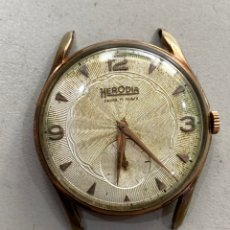 Relojes de pulsera: RELOJ HERODIA DE CUERDA AÑOS 60 - GRANDE 42 MM .FUNCIONA PERFECTAMENTE. Lote 210303736