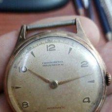 Relojes de pulsera: RELOJ CABALLERO CHRONOMETER ..FREUX WATCH & CO. SWISS MADE 17 JEWELS. . SUIZO. MUY RARO. Lote 210336786