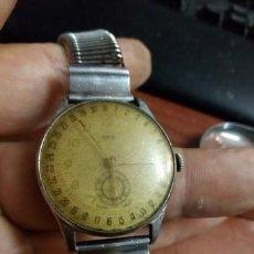 Relojes de pulsera: RELOJ DE CABALLERO ..ORIS. POINTER DATE. PUNTERO ROJO. CAL. 453. SWISS MADE .7 JEWELS 1938.HISTÓRICO. Lote 210337123