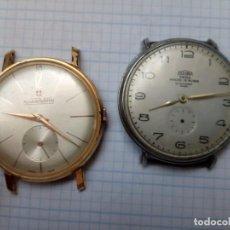 Relógios de pulso: RELOJES DE 35MM DOGMA (MAQUINARIA POSIBLEMENTE NO ORIGINAL) Y ALCAMPWATCH, AMBOS PARA REPARAR. Lote 210380030