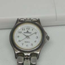 Relojes de pulsera: RELOJ DE PLATA Y ACERO MUY BUENO FUNCIONA. Lote 210452402
