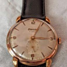Relógios de pulso: RELOJ SWSS EXACTUS 17 JEWETT CALIBRE 399 FUNCIONA PERFECTO DE CUERDA. Lote 210755916